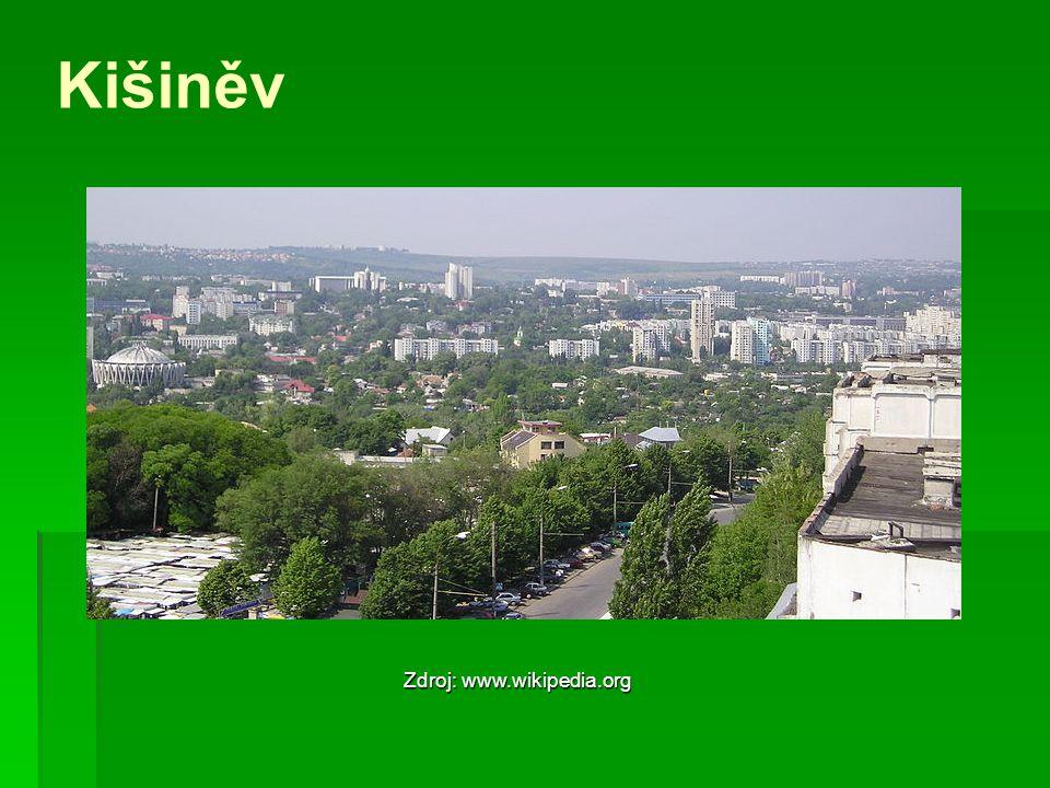 Kišiněv Zdroj: www.wikipedia.org