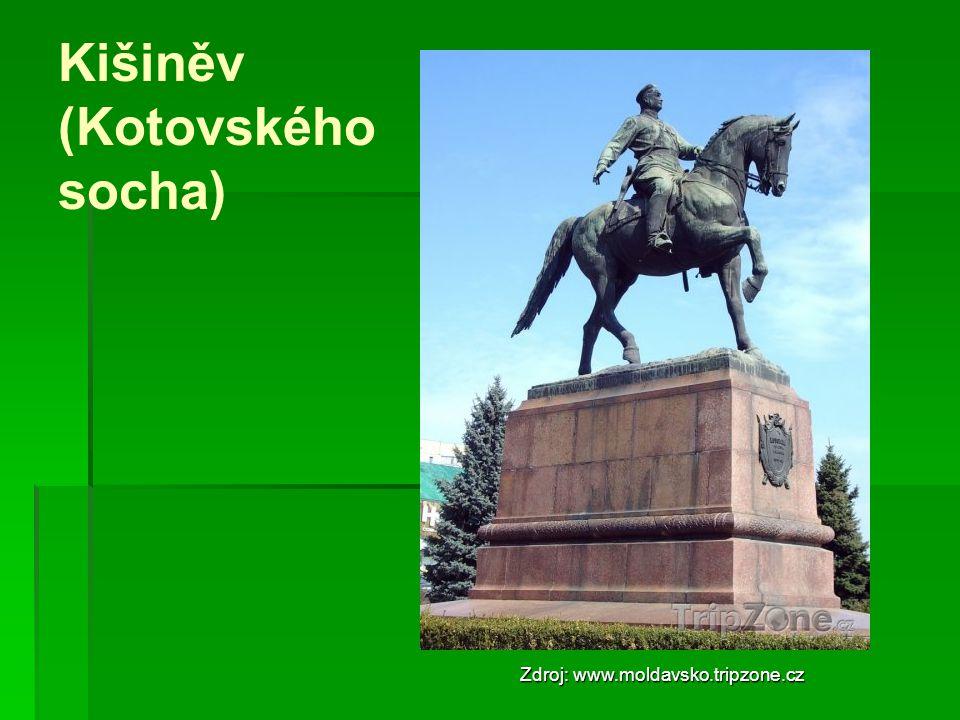 Kišiněv (Kotovského socha)