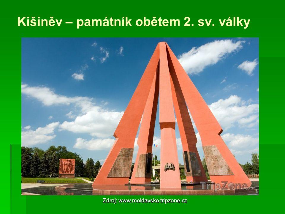 Kišiněv – památník obětem 2. sv. války