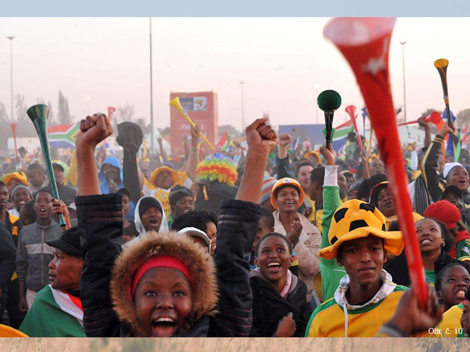 MS světa ve fotbale 2010 Stadion v Kapském městě Johannesburg