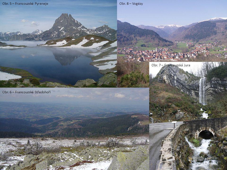 Obr. 5 – Francouzské Pyreneje