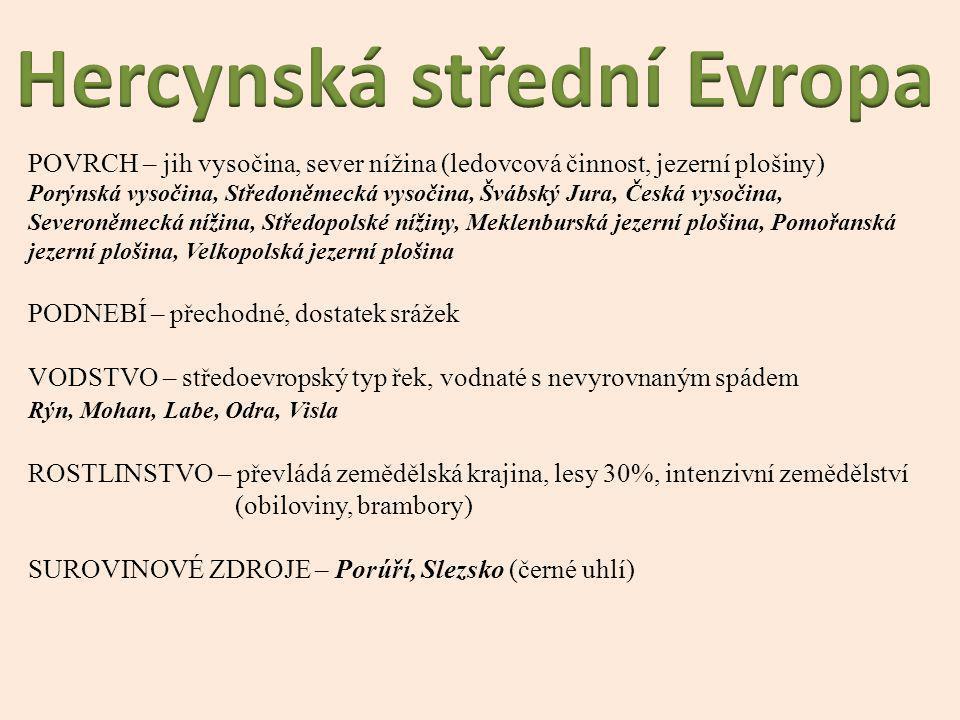 Hercynská střední Evropa