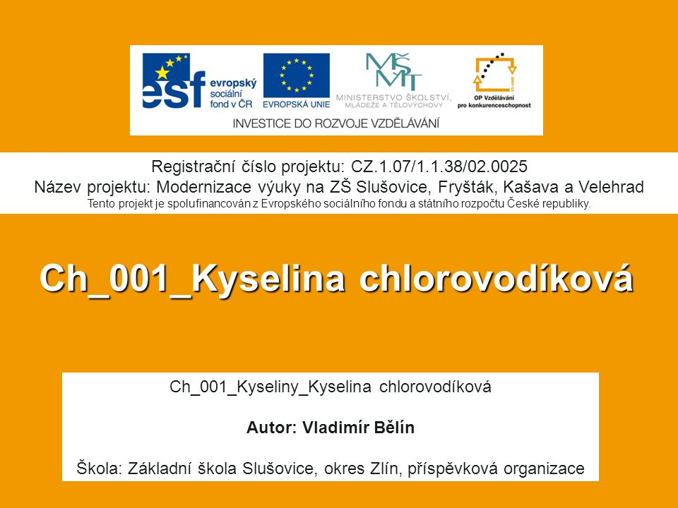 Ch_001_Kyselina chlorovodíková