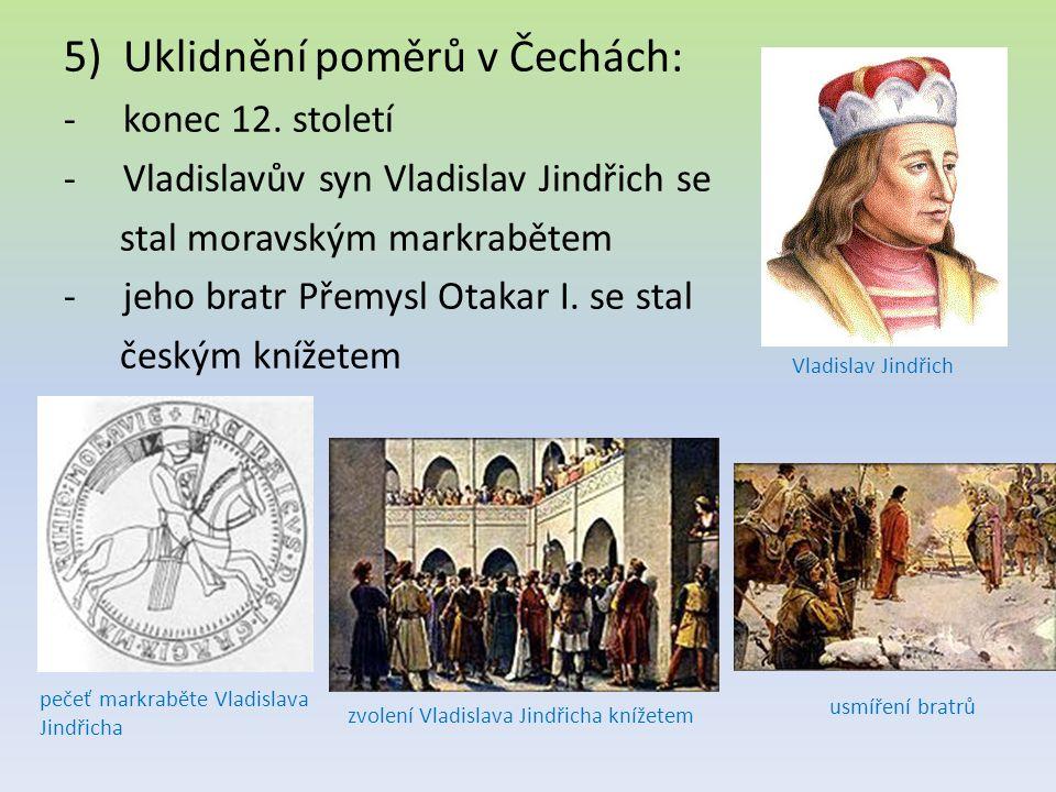Uklidnění poměrů v Čechách: