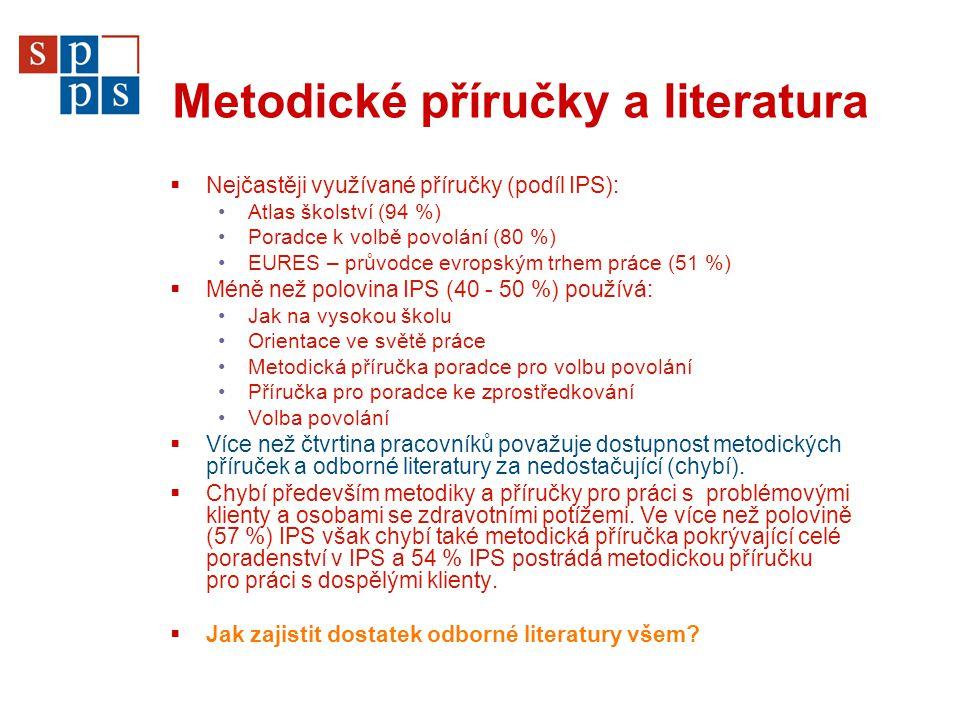 Metodické příručky a literatura