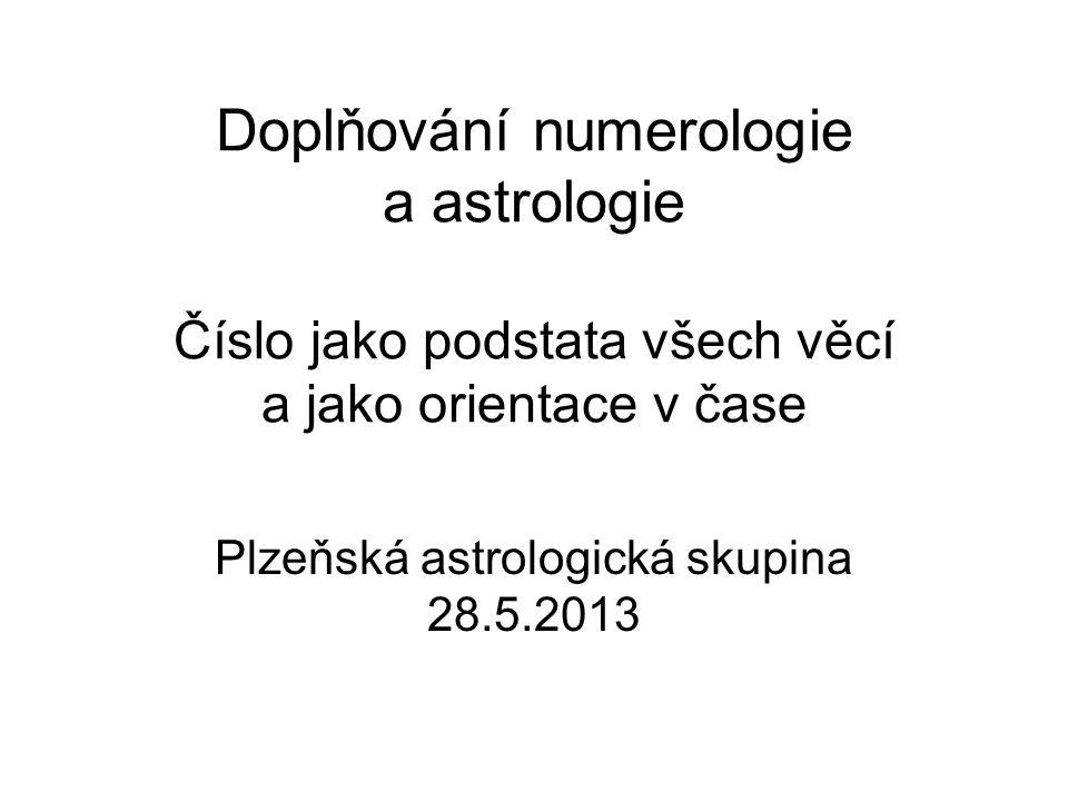 Plzeňská astrologická skupina 28.5.2013