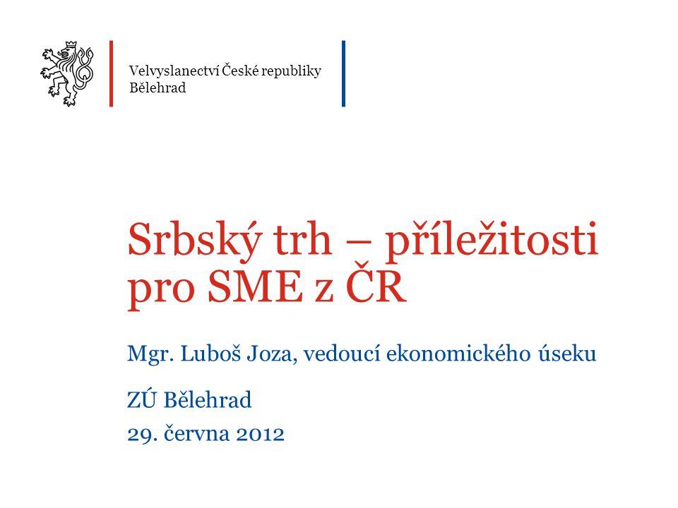 Srbský trh – příležitosti pro SME z ČR