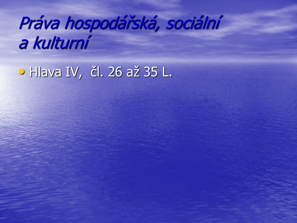 Práva hospodářská, sociální a kulturní