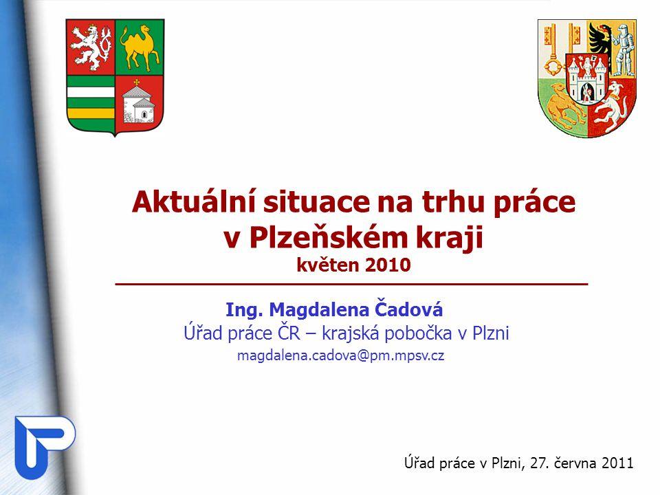 Aktuální situace na trhu práce v Plzeňském kraji květen 2010