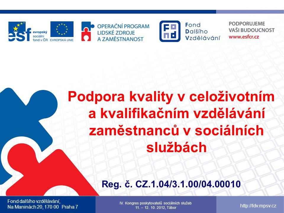 IV. Kongres poskytovatelů sociálních služeb