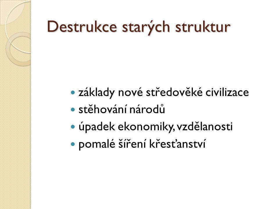 Destrukce starých struktur