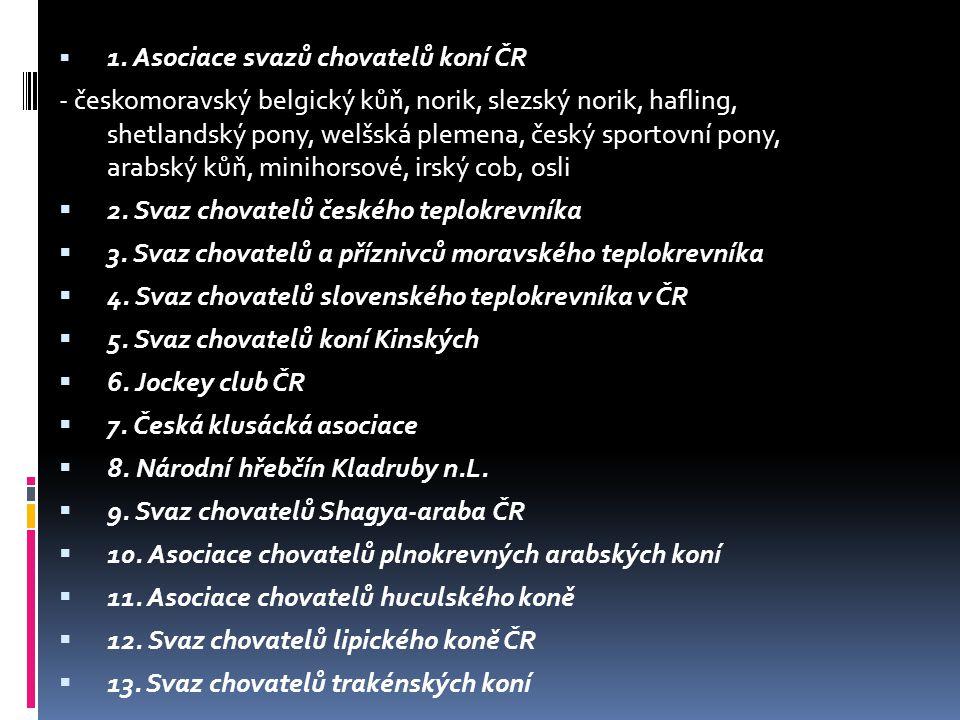 2. Svaz chovatelů českého teplokrevníka
