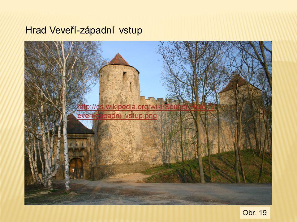 Hrad Veveří-západní vstup