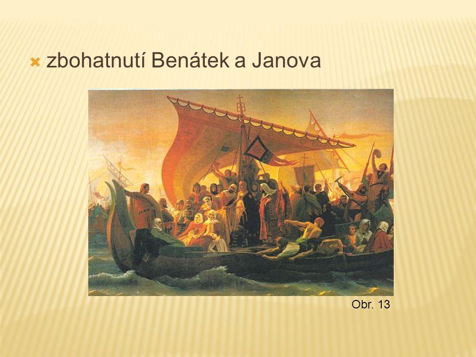 zbohatnutí Benátek a Janova