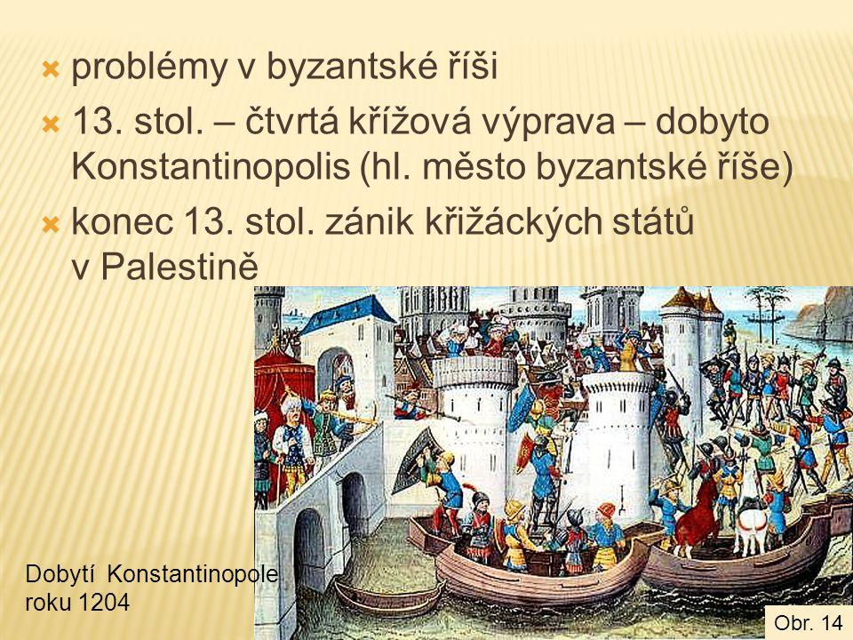 problémy v byzantské říši