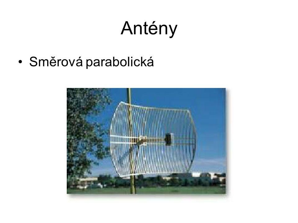 Antény Směrová parabolická