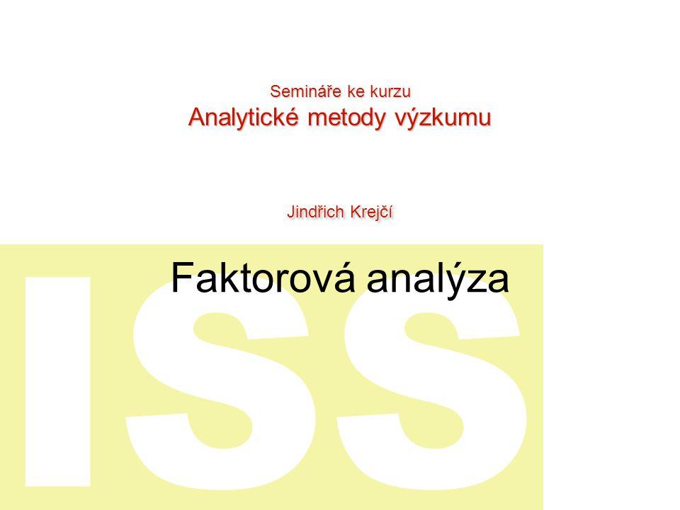Analytické metody výzkumu