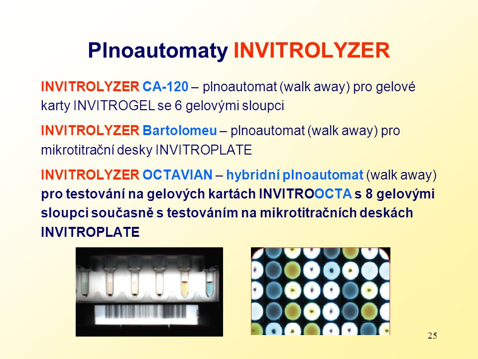 Plnoautomaty INVITROLYZER