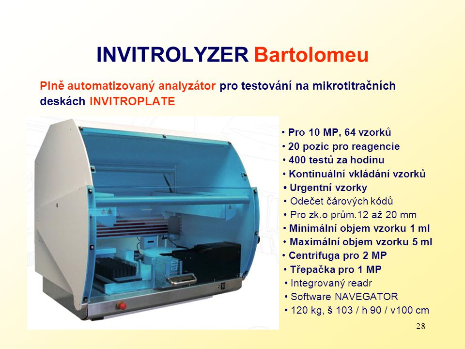 INVITROLYZER Bartolomeu