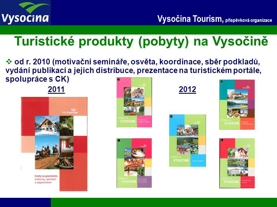 Turistické produkty (pobyty) na Vysočině