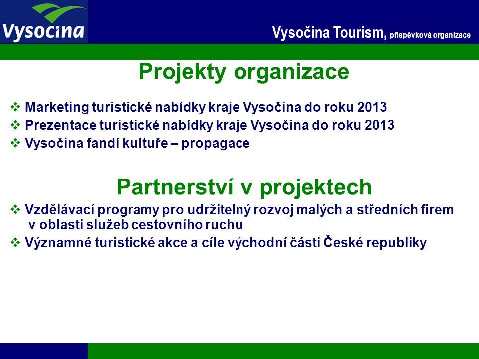 Partnerství v projektech