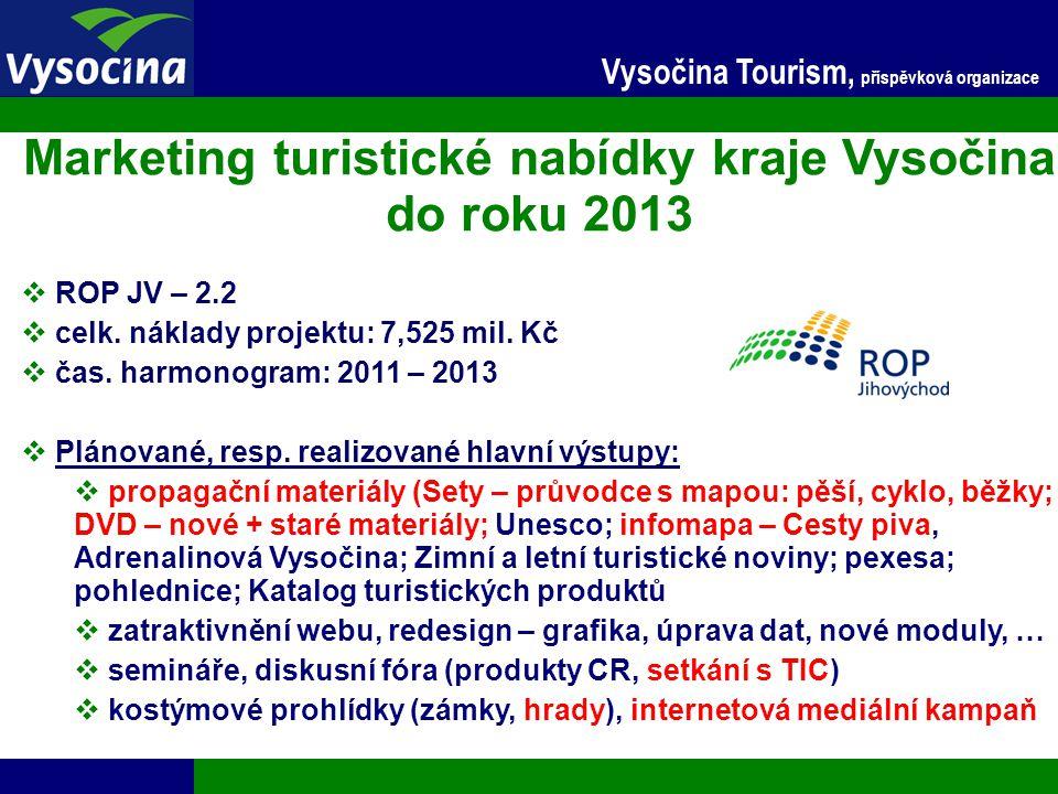 Marketing turistické nabídky kraje Vysočina do roku 2013