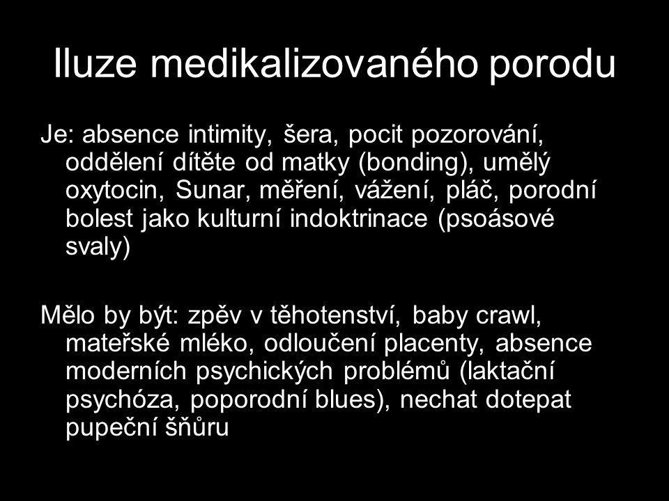 Iluze medikalizovaného porodu