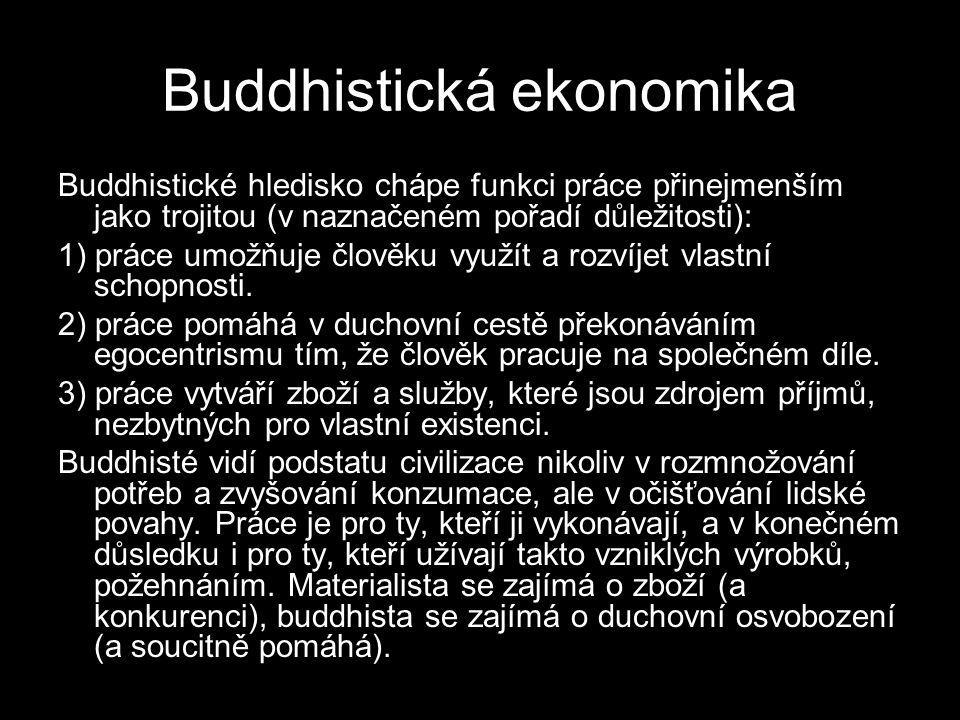 Buddhistická ekonomika