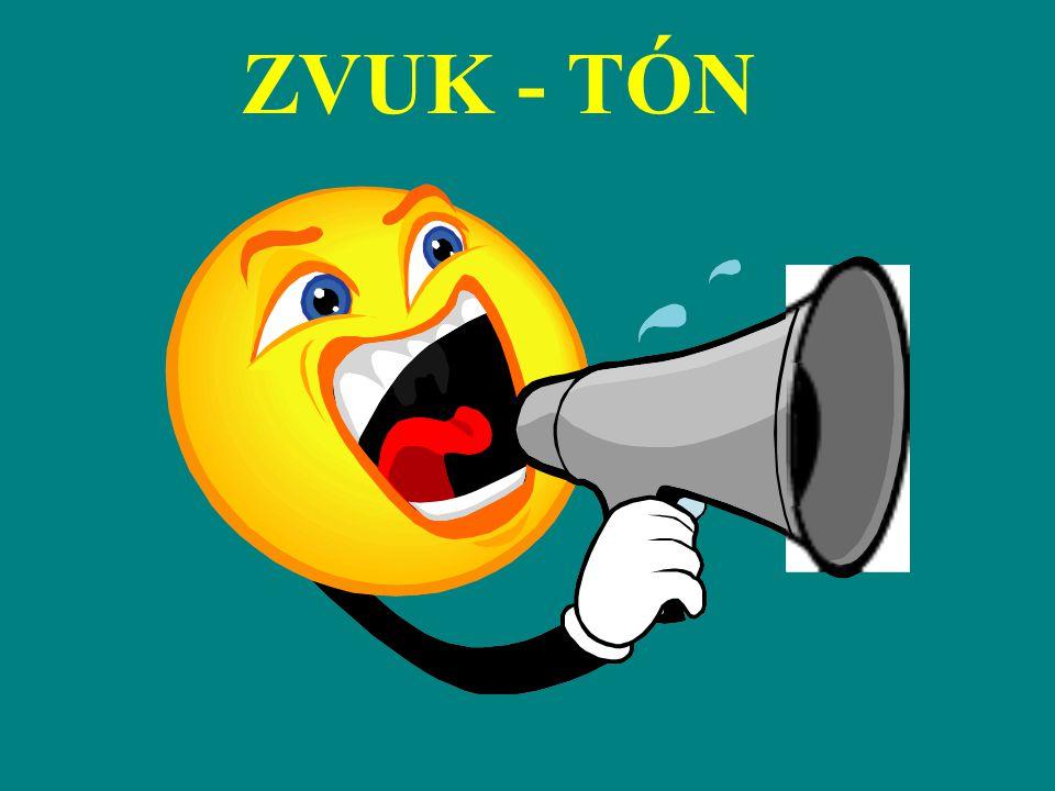 ZVUK - TÓN