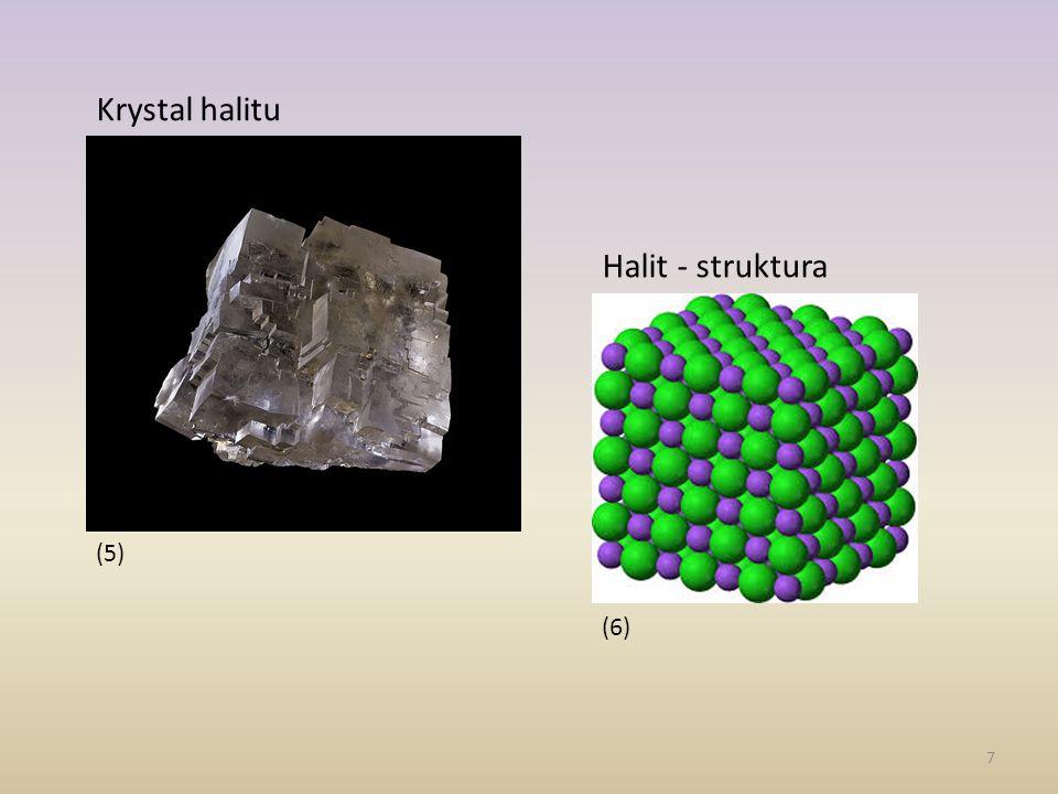 (5) Krystal halitu Halit - struktura (6)