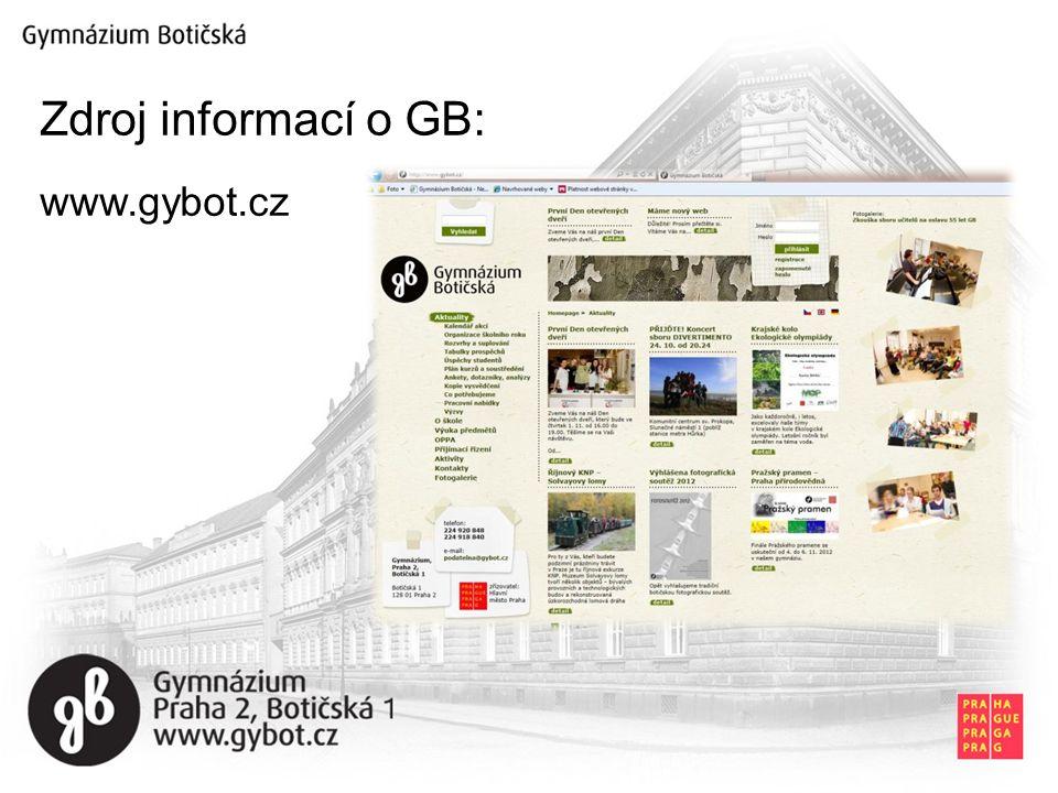 Zdroj informací o GB: www.gybot.cz
