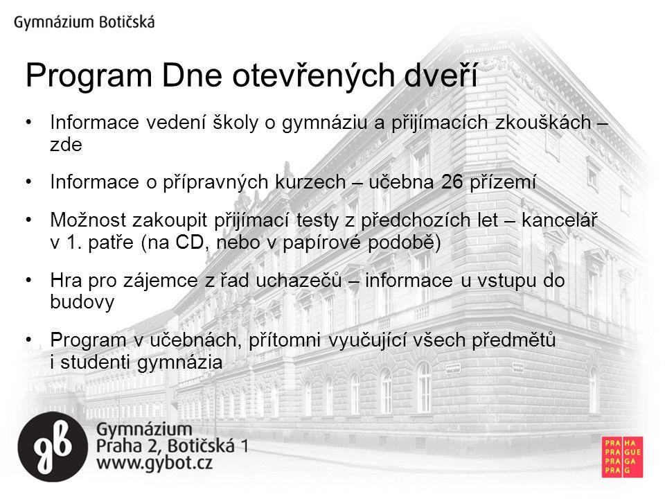 Program Dne otevřených dveří