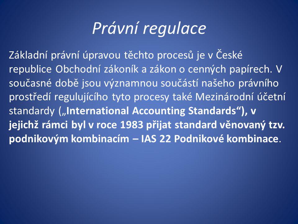 Právní regulace