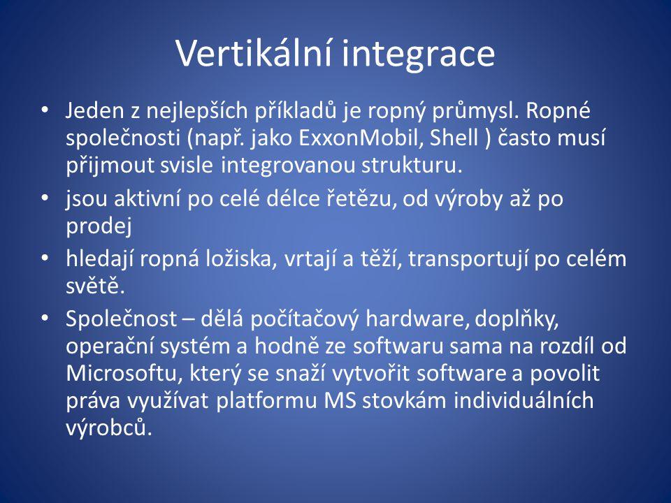 Vertikální integrace