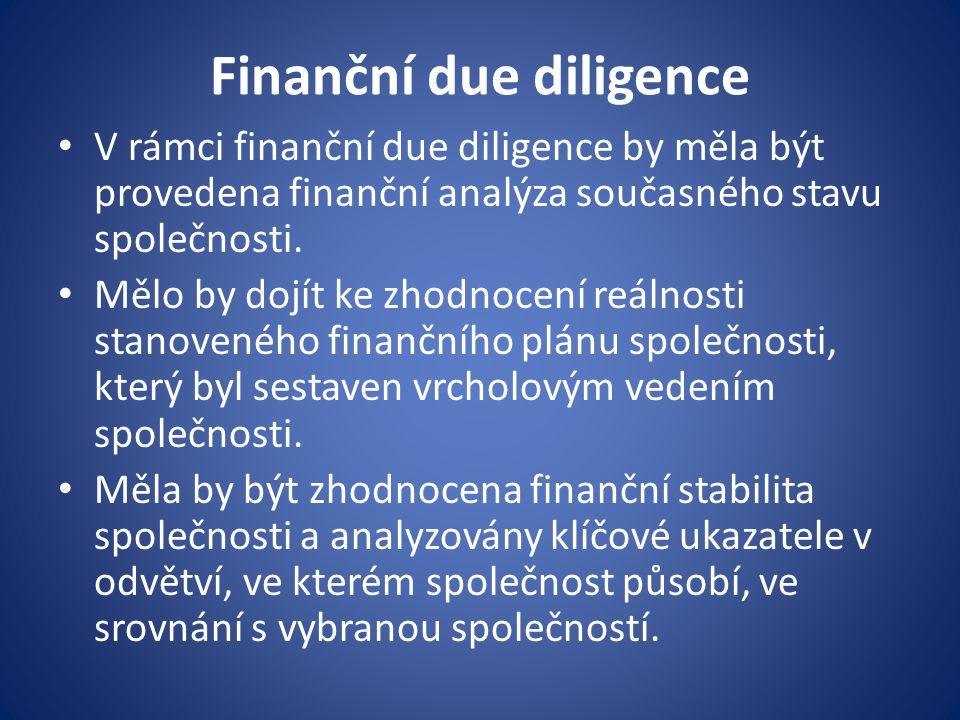 Finanční due diligence