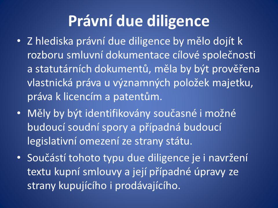 Právní due diligence