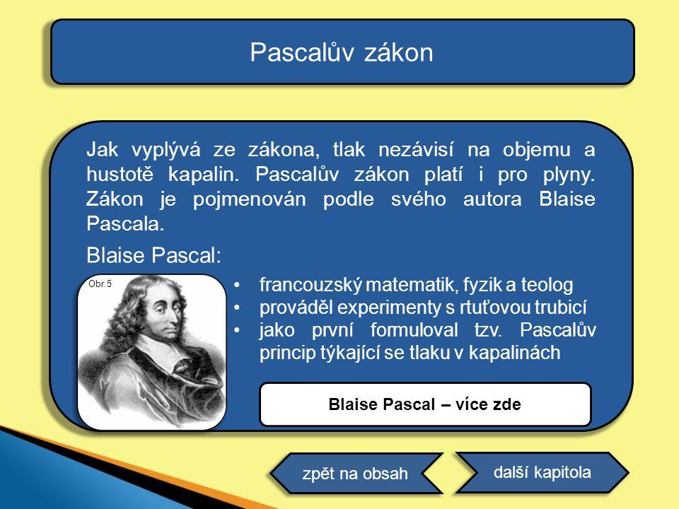 Blaise Pascal – více zde