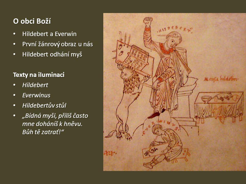 O obci Boží Hildebert a Everwin První žánrový obraz u nás