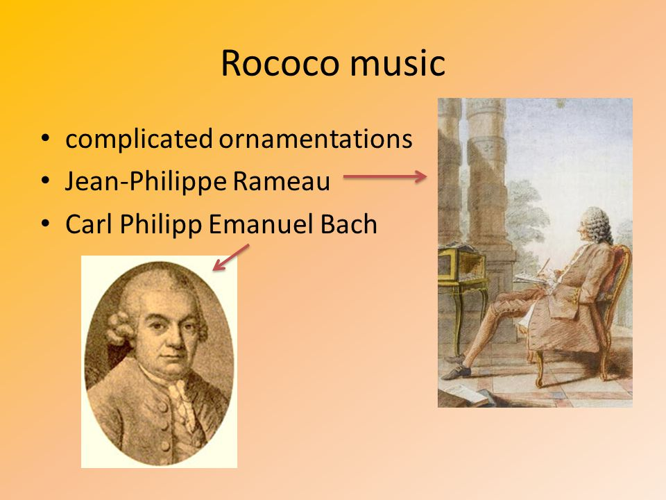 Rococo music complicated ornamentations Jean-Philippe Rameau