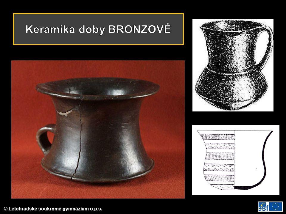 Keramika doby BRONZOVÉ