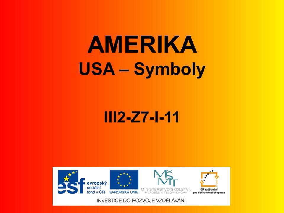 AMERIKA USA – Symboly III2-Z7-I-11