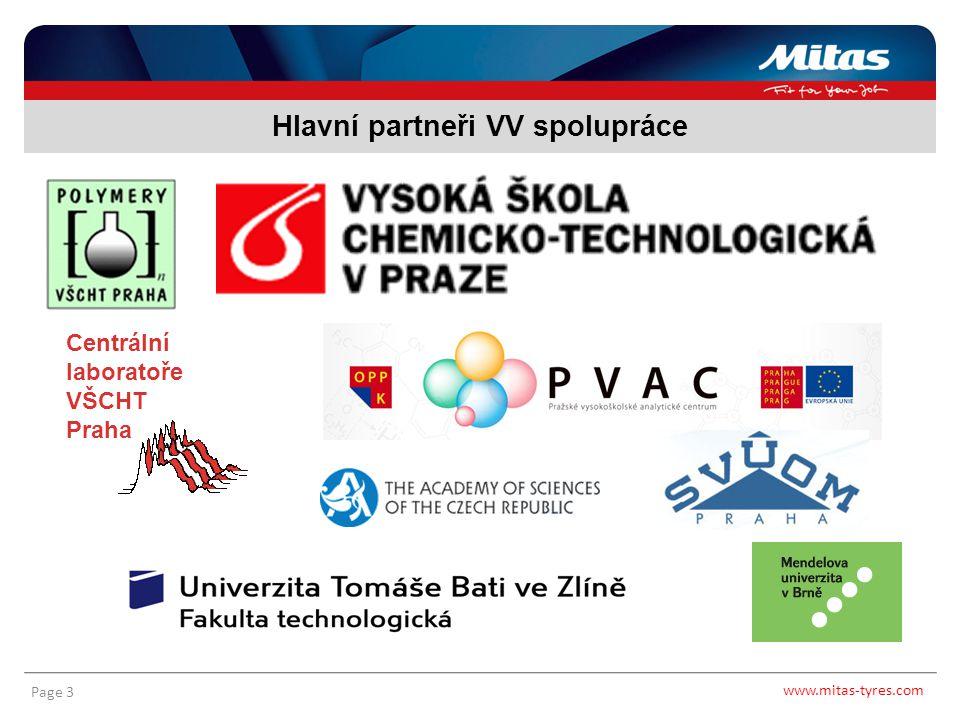 Hlavní partneři VV spolupráce