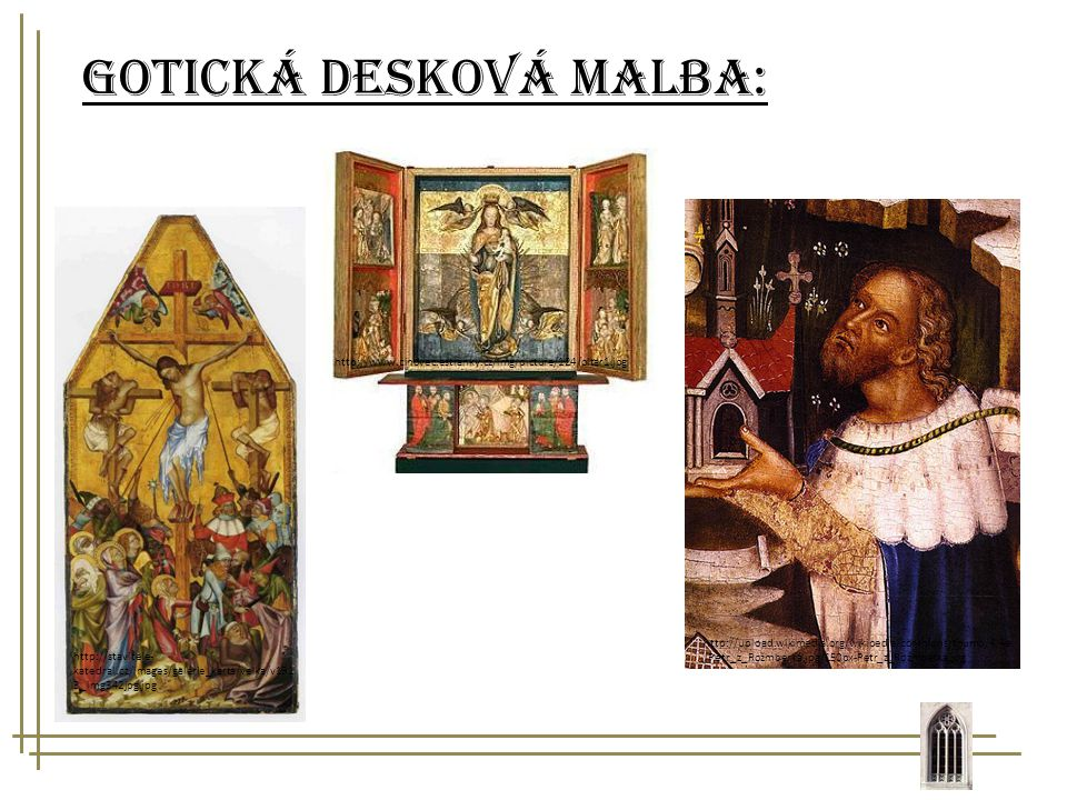 Gotická desková malba: