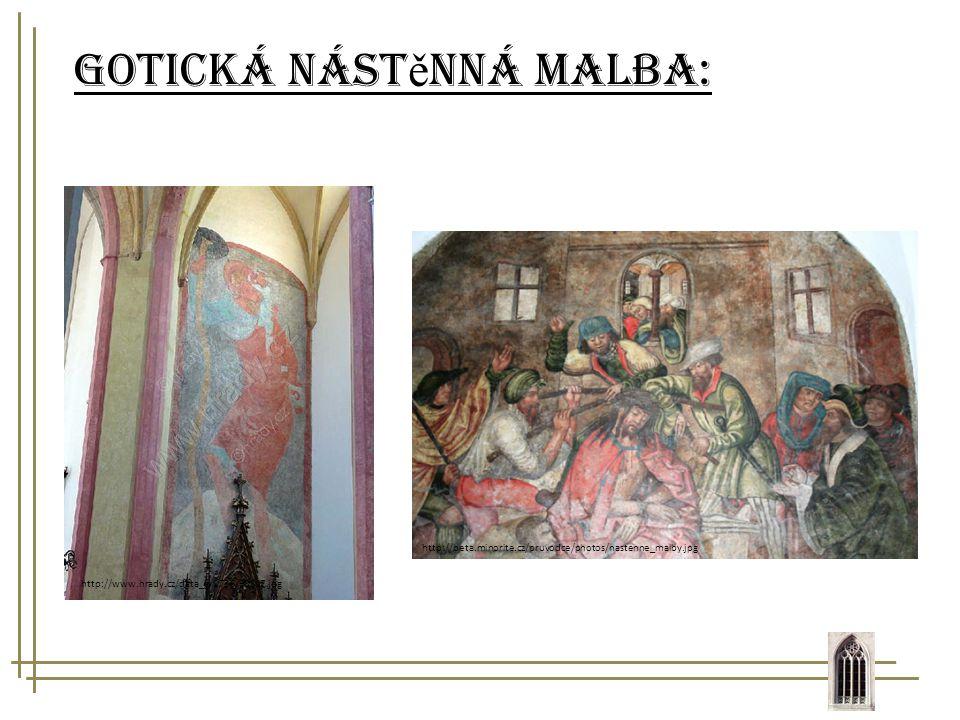 Gotická nástěnná malba: