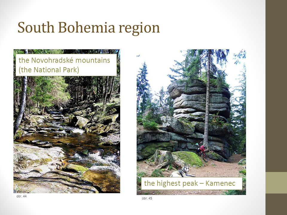 South Bohemia region the Novohradské mountains (the National Park)