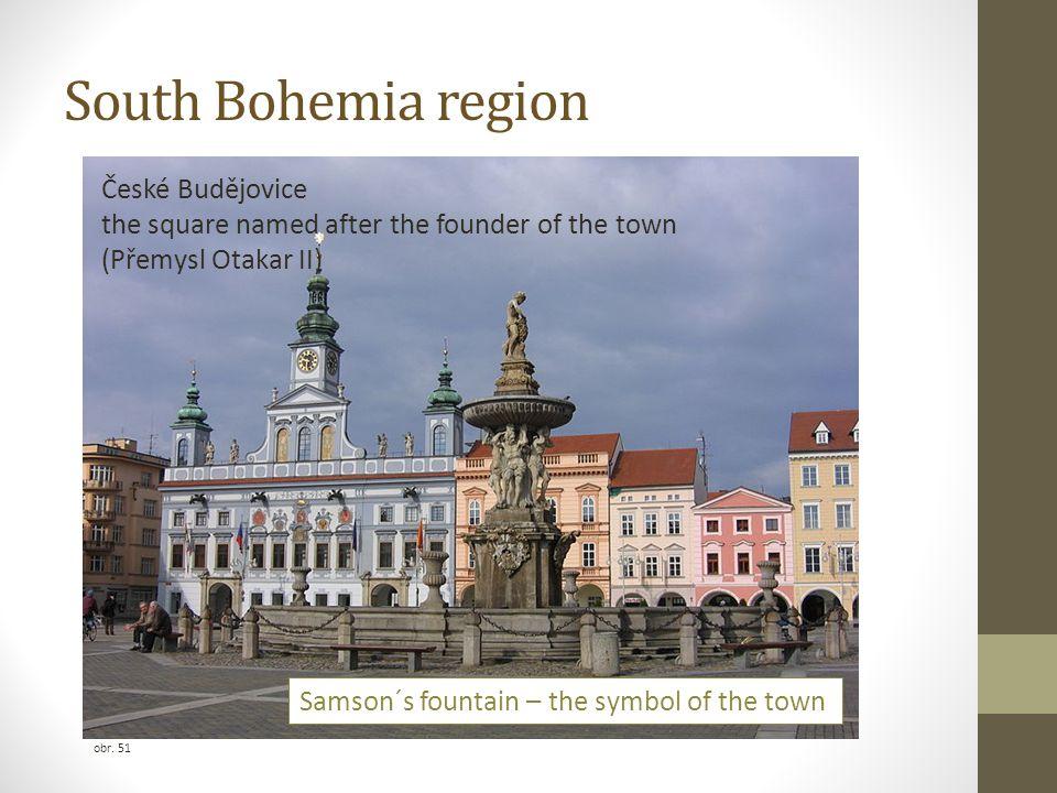 South Bohemia region České Budějovice