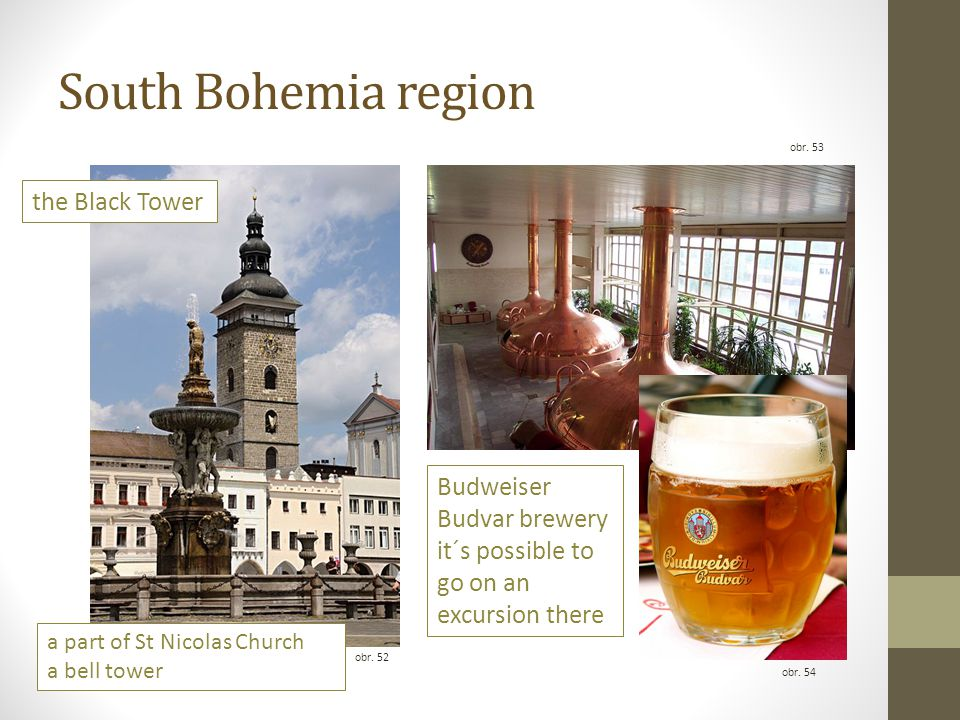 South Bohemia region the Black Tower Budweiser Budvar brewery