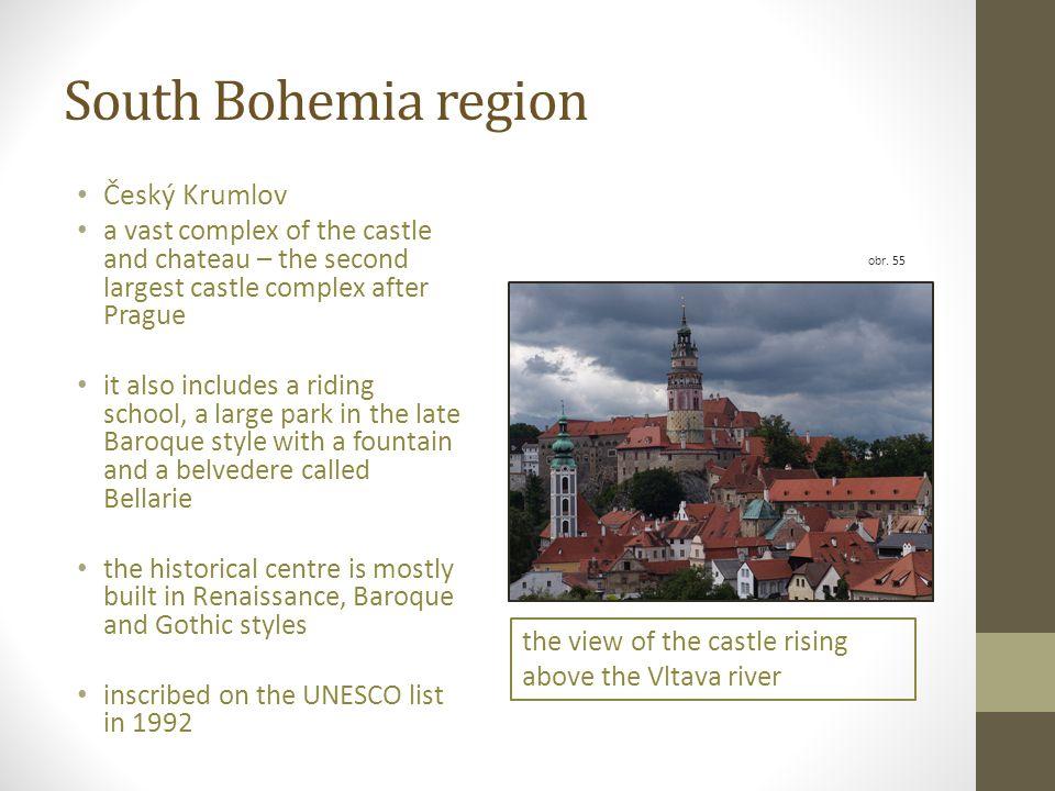 South Bohemia region Český Krumlov