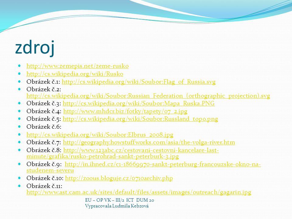 zdroj http://www.zemepis.net/zeme-rusko