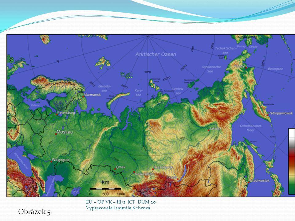 Obrázek 5 EU – OP VK – III/2 ICT DUM 20 Vypracovala Ludmila Kebzová